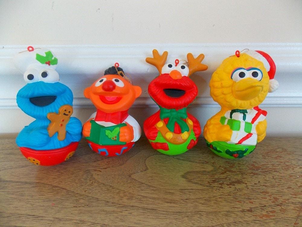 Vintage Sesame Street Christmas Ornaments Sesame Street Big