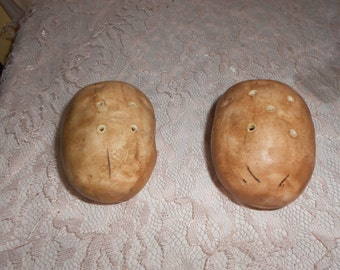 Baked Potato Shaped Salt and Pepper Shakers
