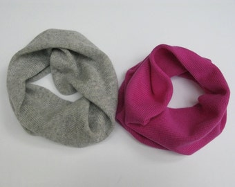 Pure cashmere scarf (snood)