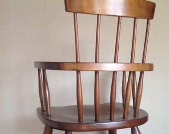 Vintage Wooden Windsor Chair.
