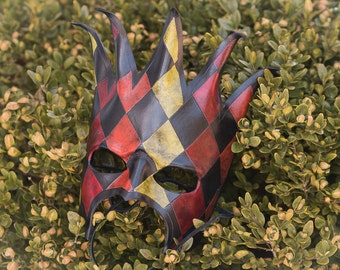 Jester Leather Mask