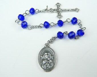 Our Lady of Perpetual Help Niner Prayer Chaplet Rosary--Erzulie Dantor