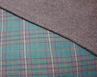 Comfy throw - fleece and flannel