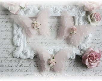 Shabby Vellum Butterfly Embellishments for Scrapbooking, Cardmaking, Altered Art, Tag Art, Mini Album