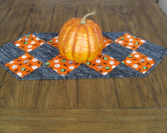 SALE Frank and Friends Halloween Table Runner