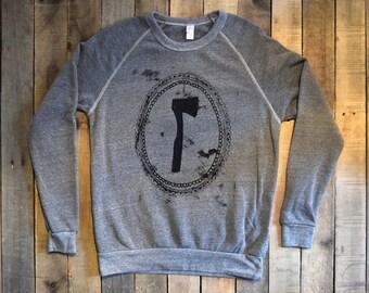 Axe Eco Gray Sweatshirt