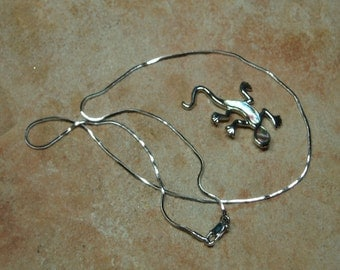 Solid 925 Sterling Silver Snake Chain Necklace