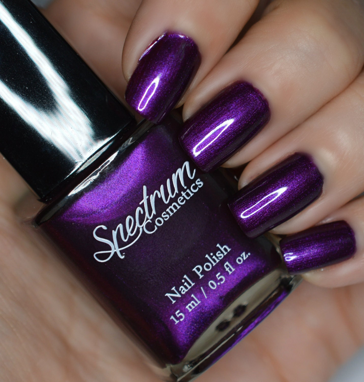 Nail Colors Halloween: Purple Nail Polish MISCHIEF AND MAYHEM Halloween Shade