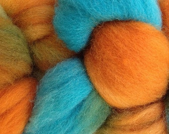 Wool Roving Hand Dyed in Hopi Land