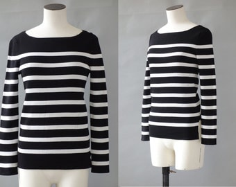 Marinière nautical jumper | 1990's by cubevintage | small
