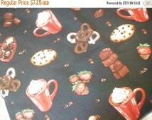 Gorgeous Valentines Fabrics--Hot Cocoa n Candy