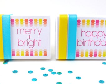 Gift Wrapping Service // Holiday Gift Wrap or Birthday Gift Wrap Add On // get any item wrapped