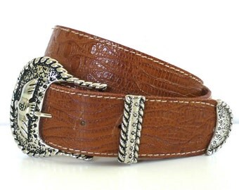 Vintage Thunderbird Buckle Belt by Nan Lewis
