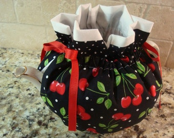 Red Cherries Tea Pot Cozy