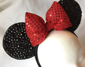 Bling Minnie Mouse Ear