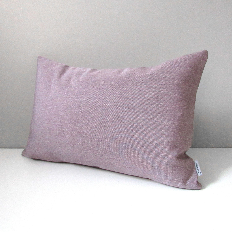 Mauve Pillow Cover Decorative Outdoor Pillow Cover Modern
