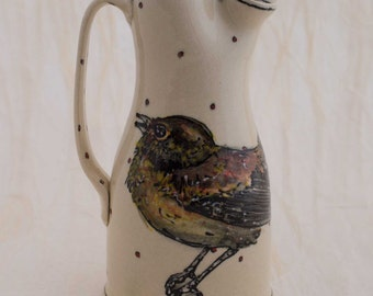 Pitcher Bird Serenade your Lemonade Pitcher