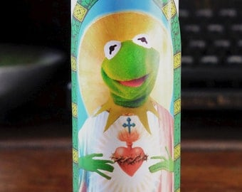 Kermit the Frog Prayer Candle / Muppets / Saint Kermit