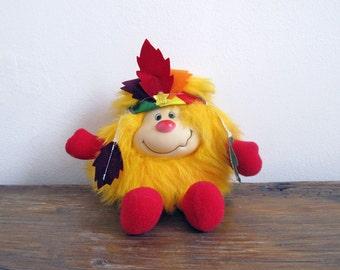 Vintage Rainbow Brite Sprite Yellow 1984 Hatful Indian Spark
