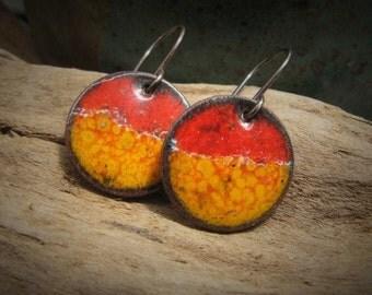 Enamel Earrings Colorful Enamel Jewelry Tigerlily