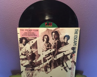 HOLIDAY SALE Vinyl Record Album The Escape Club - Wild Wild West LP 1988 Rock Dance