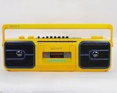 Vintage 90's Sony Sports CFS-950 boombox GHETTO BLASTER