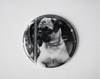 "Joyriding Pug | 2.25"" Magnet"