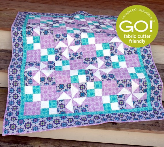 Flowing in the breeze GO baby quilt pattern Beaquilter BL130