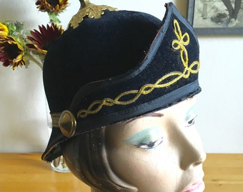 Antique Oddfellows Ceremonial Hat