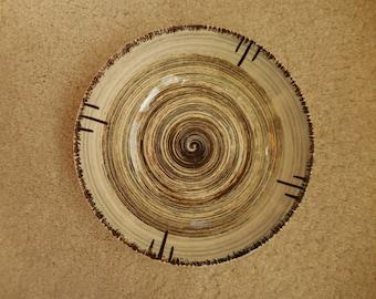 50's Stetson Pottery Serving Bowl