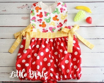 Fruits Mickey Classic Bubble 6/12m-5T
