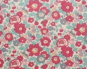 Liberty tana lawn printed in Japan - Betsy - Rose pink gray mix
