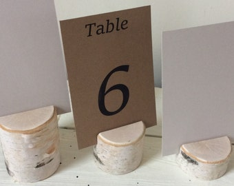 Multi Height Branch Holders - Set of 9 - Elegant Rustic Wedding - Chic - Table Number Holder - Sign Holder - Craft Display