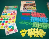 Vintage 1980's Candy Land Bingo Game Complete