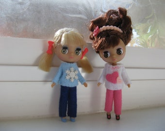 Petite Blythe, LPS Blythe, Little Pullip, Mini Pullip, Little Dal Fashion Doll Clothing