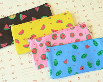 Summer Fruits cartoon Pen Bag