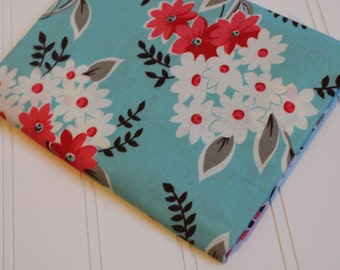 Flea Market Fancy Legacy Blue Bouquet by Denyse Schmidt