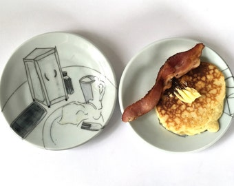 Tablescape breakfast plate