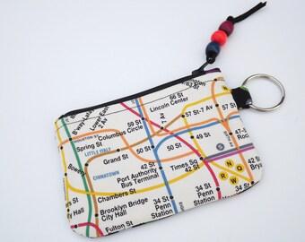 Change Purse, Credit Card Case, Key Case, Wallet, NYC Subway
