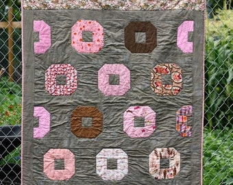 ON SALE Donut Quilt