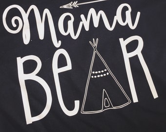 Mama Bear Shirt -Plus size shirts