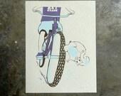 ArtCrank Denver Squirrel - hand pulled screenprint poster