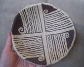 Organic Art Dish - Hohokam Style II