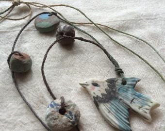 Bird necklace 3