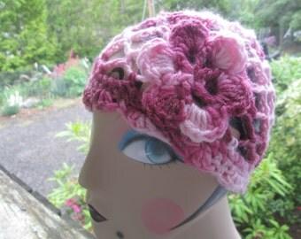 Flapper Hat in Fuzzy Pinks by SuzannesStitches, Fuzzy Pink Hat, Flapper Hat, Pink Cloche, Victorian Hat, Burlesque Hat, Girls Pink Hat, Pink