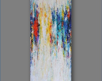 Abstract Painting Abstract Acrylic Painting  Acrylic Art Original Abstract Artwork Palette Knife  Modern Art Gifts  Painting by Mirjana