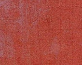Grunge red solid/tonal for Moda by Basic Grey