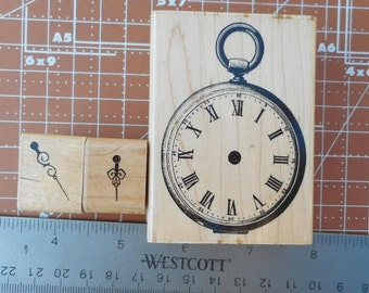 Victorian Pocketwatch with Separate Hands by Inkadinkado.