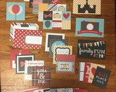 Echo Park MAGICAL ADVENTURE project life cards - set of 30