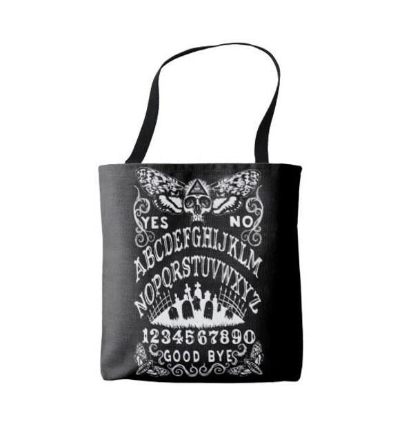 Ouija Death Moth Tote Bag